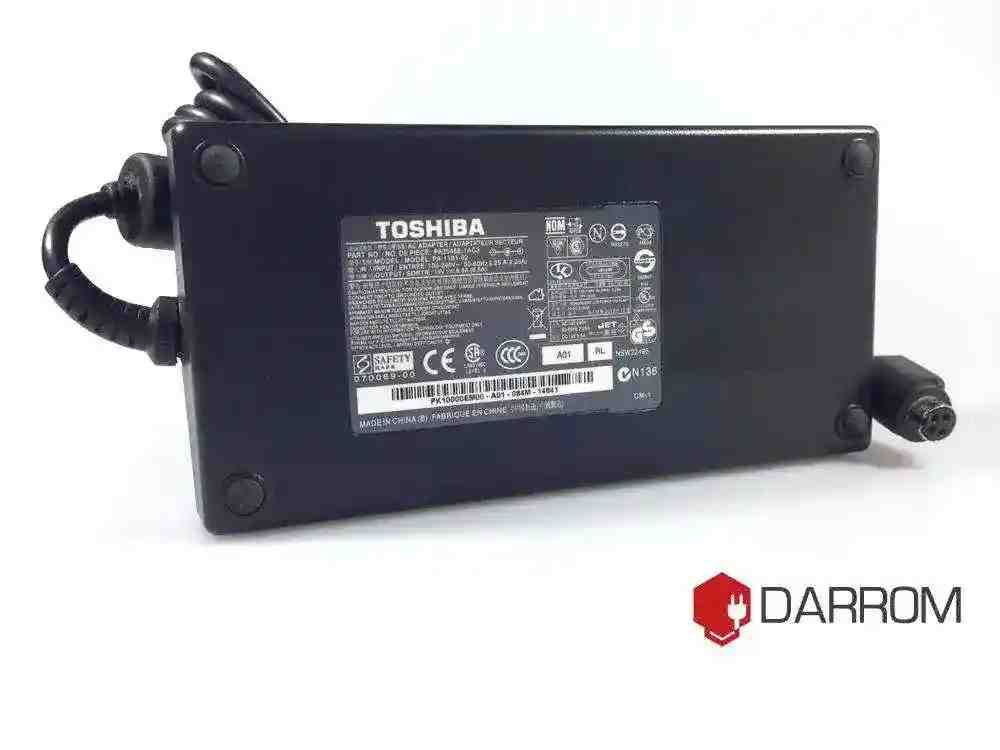 Toshiba PA3546E-1AC3 for Qosmio X300-1 19V 9.5A 180W  (4 pin круглый)